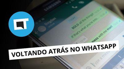 Enviou mensagem no WhatsApp e se arrependeu? Agora dá pra deletar a tempo!  [Pla