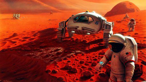 Combustível produzido com metano em Marte pode ser a chave para viagens de volta