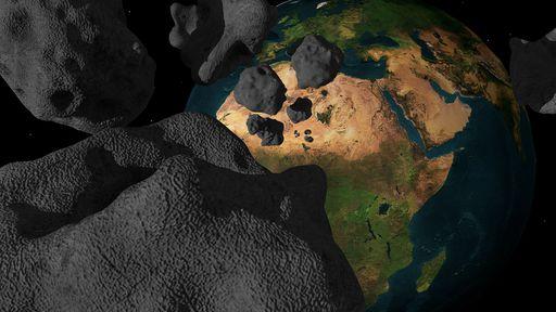 Novos asteroides estão chegando perto da Terra, mas sem risco de colisão