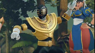 Personagens de Street Fighter lutam contra Power Rangers em jogo mobile