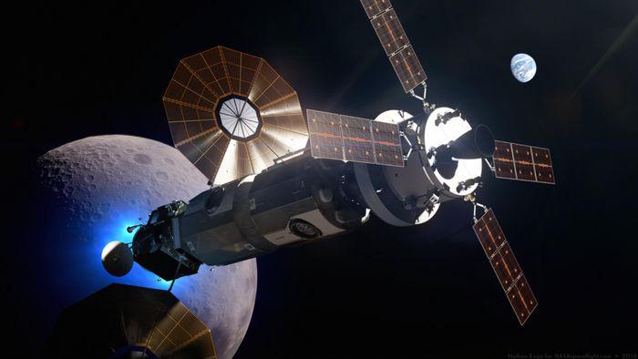 Montagem da estação espacial Gateway começará em 2023 na órbita da Lua