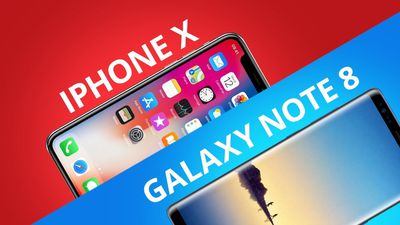 iPhone X vs Galaxy Note 8 [Comparativo]
