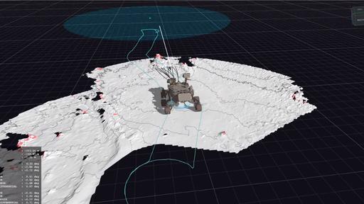 Como funciona o sistema de navegação autônoma do rover Perseverance?