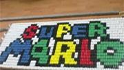 Especial Nintendo com 30 mil peças de dominó