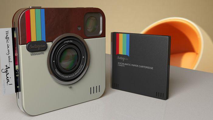 a11721bd28105 Câmera Polaroid  do Instagram  chega ao Brasil e custa salgados R  1.700 -  Câmera