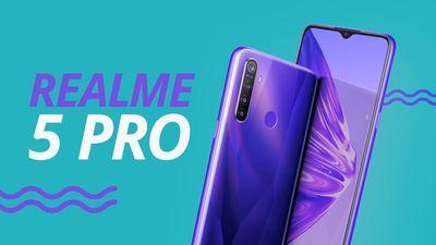 Realme 5 Pro: bate de frente com os modelos intermediários da Xiaomi?