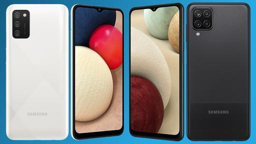 Samsung anuncia os novos Galaxy A02s e A12, seus celulares de entrada para 2021