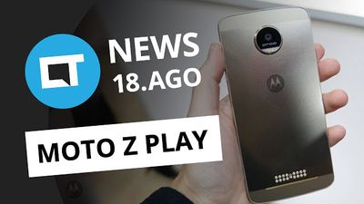 Moto Z Play dá as caras, Facebook com games tipo Steam, Uber em carros semi-autô