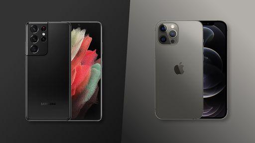 Galaxy S21 Ultra vs. iPhone 12 Pro Max: qual é o melhor topo de linha?