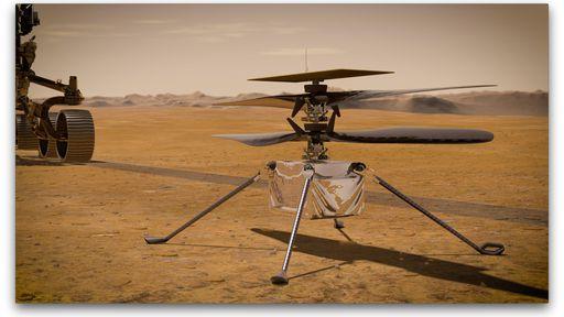 Primeiro voo de teste do helicóptero Ingenuity é adiado para 11 de abril