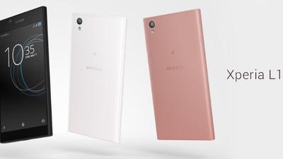 Sony anuncia Xperia L1, seu novo intermediário com Android Nougat