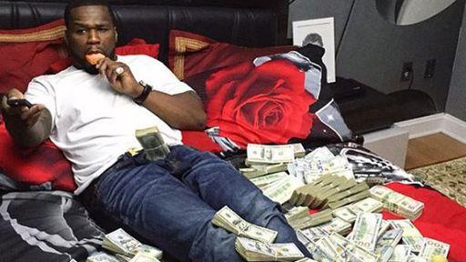 """""""Sem querer"""", 50 Cent ganha mais de US$ 7 milhões em bitcoins"""