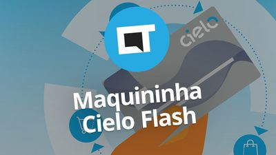 Maquininha de cartão Cielo Flash: 3G + Wi-Fi com ultravelocidade #CieloFlash