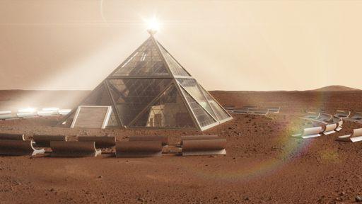 É assim que viveremos quando finalmente habitarmos Marte