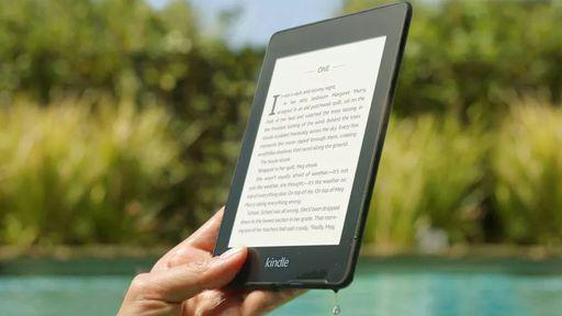 Novo Kindle Paperwhite é ainda mais fino e a prova d'água