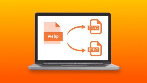 Como converter uma imagem WebP em PNG ou JPEG