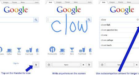 Handwrite Google