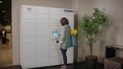 Amazon lança oficialmente o Hub, cofre personalizado para entregas 24h