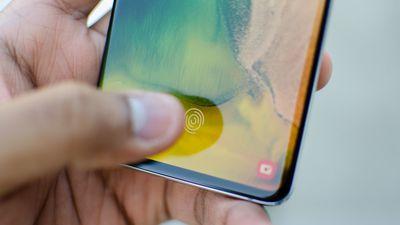 Sensor ultrassônico do Galaxy S10 pode ser aprimorado com o tempo de uso