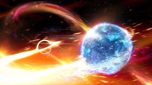 Colisão entre buraco negro e estrela de nêutrons é confirmada pela primeira vez