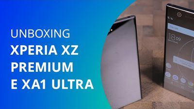 Sony Xperia XZ Premium e Xperia XA1 Ultra [Unboxing]