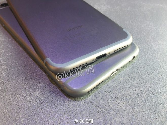 comparação iPhone 7 e 6s