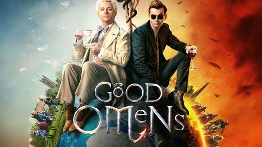 Crítica | Good Omens: a justa e precisa amizade de Neil e Terry, escritores