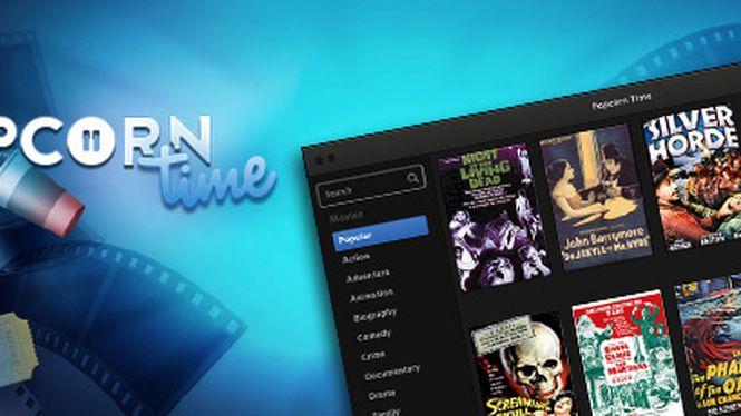 Popcorn Time agora faz streaming diretamente para o seu navegador