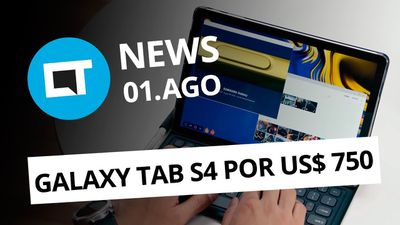 Samsung Galaxy Tab S4 e Tab A; Novo Honor Note 10; HQ no Spotify e + [CT News]