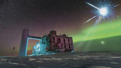 """Cientistas detectam """"partícula fantasma"""" proveniente do espaço profundo"""