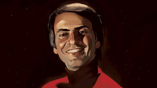 Se estivesse vivo, o cientista Carl Sagan completaria 84 anos nesta sexta (9)
