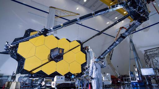 James Webb passa por teste de instrumentos e fica mais perto do lançamento