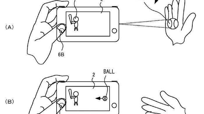 nintendo switch pode ter sensor de gestos e proje u00e7 u00e3o de