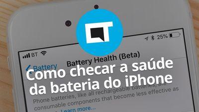Como checar a saúde da bateria do iPhone e otimizar o desempenho no iOS 11.3
