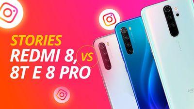 Qual smartphone faz as melhores selfies? Redmi Note 8, Note 8T ou Note 8 Pro?