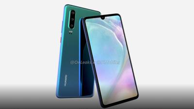 Vazamentos mostram tela com notch e camera tripla do Huawei P30