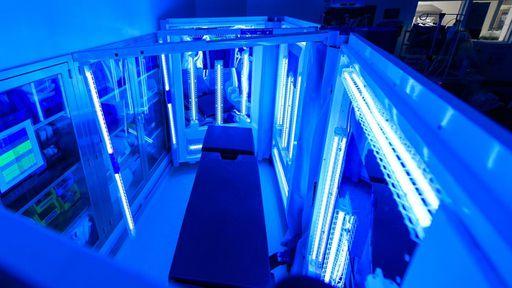 "China usa ""sala ultravioleta"" contra o coronavírus na limpeza de ônibus"
