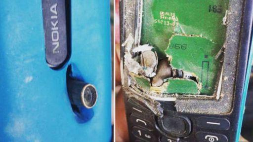 Celular da Nokia salva a vida de homem ao parar uma bala