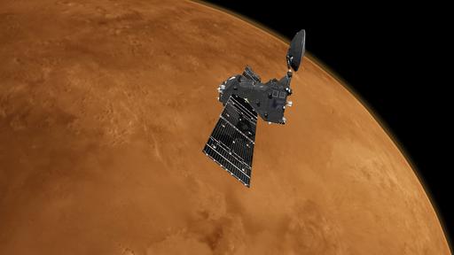 Sonda da ESA adota novos limites para buscar gases biomarcadores em Marte