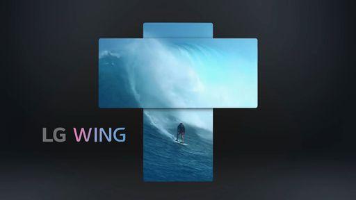 Vídeo mostra o LG Wing e seu mecanismo de tela giratória em ação