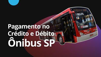 São Paulo permitirá pagar passagens de ônibus com cartão de crédito e débito