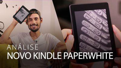 Novo Kindle Paperwhite: mesma fórmula com extras importantes [Análise / Review]