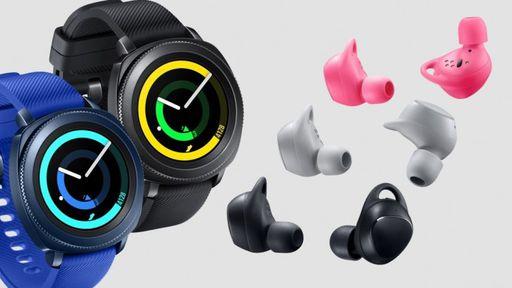 Samsung Gear Sport e IconX chegam ao Brasil na próxima semana
