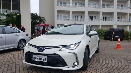 Testamos o Toyota Corolla 2020, o primeiro carro híbrido flex do mundo