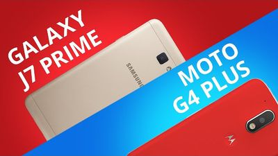 Moto G4 Plus vs Galaxy J7 Prime [Comparativo]