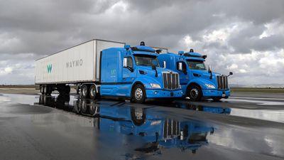 Waymo, da Google, começa a testar caminhões autônomos em Atlanta
