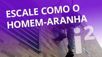 Escale paredes como o Homem-Aranha! [Inovação ²]