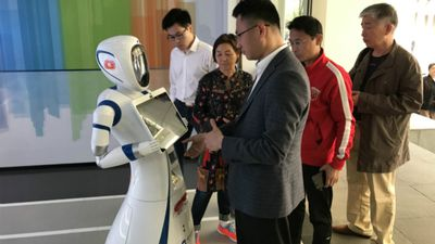 Xangai agora tem banco automatizado com VR, robôs e digitalização facial