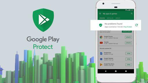 Como usar o antivírus Google Play Protect para proteger seus apps