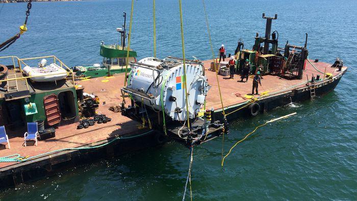 Microsoft testa o primeiro data center subaquático do mundo